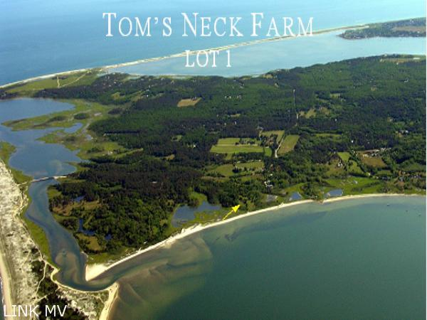 Entrance to Tom's Neck Farm