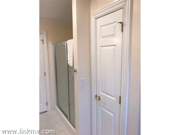 First Floor Master En Suite Shower and Linen Closet