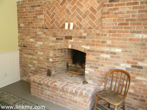 Kitchen Fireplace/Island Brickyard Brick!
