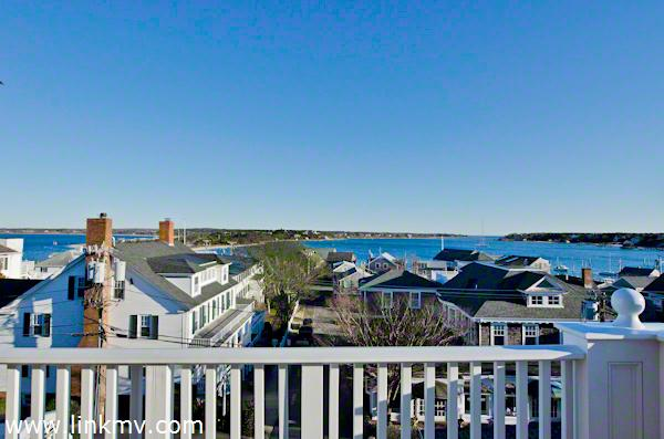 Views of Edgartown Village and Harbor From Private Deck