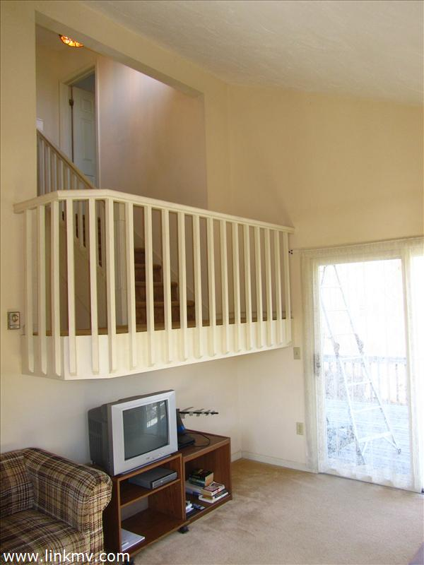 Stairlanding over living space
