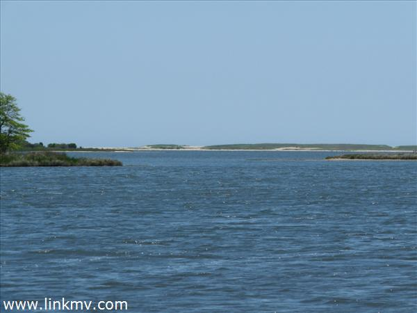 Waterway out to the barrier beach - motorboat, sail, kayak, or canoe to the Atlantic shore.