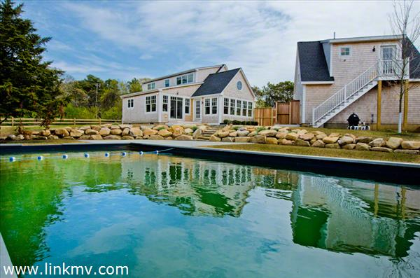 New 20x40-Foot Pool Sits Between Main House and Carriage House