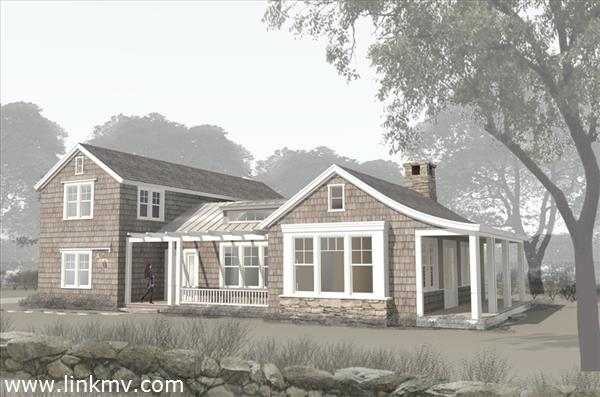 Architectural Rendering Of House