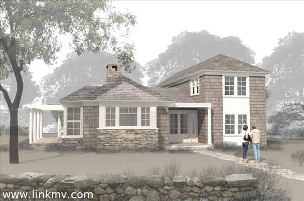 Architectural Rendering Of The House
