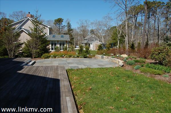 Deck and Bluestone Patio