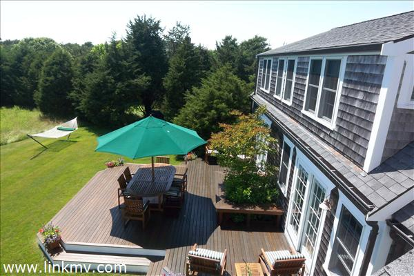 View of Deck from 2nd Floor Deck
