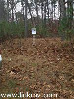 Front of lot on Pond View DR