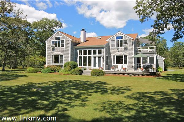 Over 11 acres with access to Oyster Pond just a short distance away