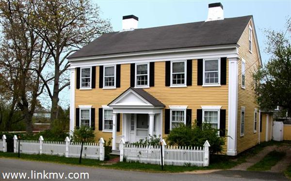 circa 1838 Capt Rufus Pease house
