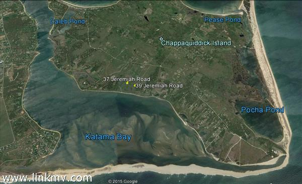 General location of waterfront lots for sale.