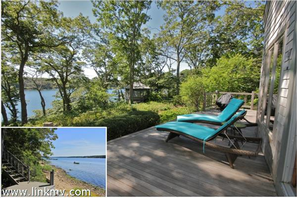 Side deck overlooking the Lagoon