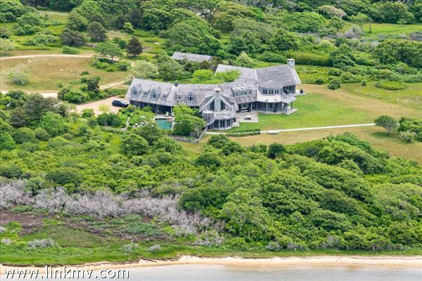 Waterfront on Edgartown Great Pond