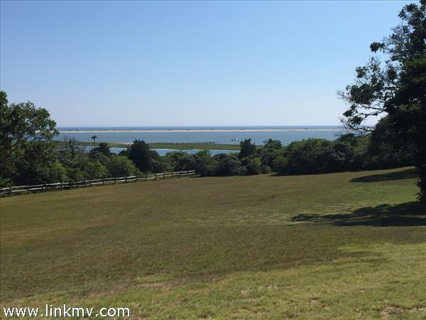 Stunning views over Katama Bay and Nantucket Sound