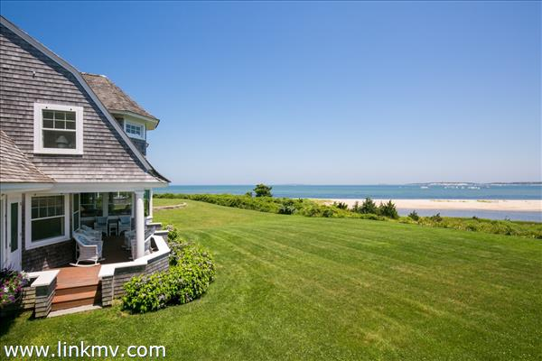 Spectacular waterviews and view of the Edgartown lighthouse