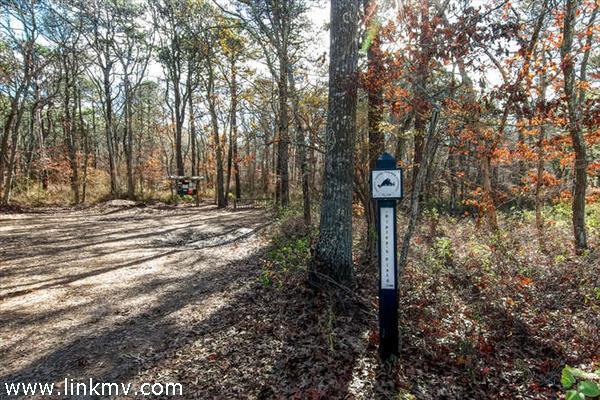 Walk to Ripleys Field nearby Land Bank trail