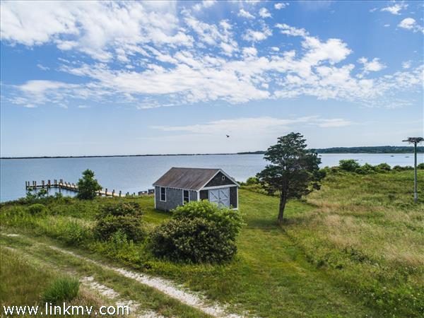 Views overlooking Land Bank property
