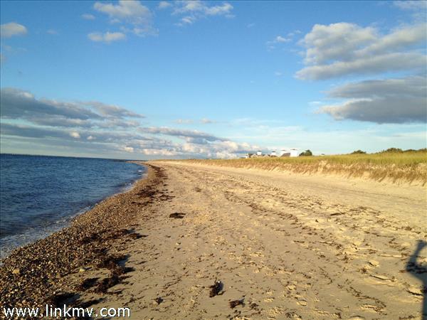 Private north shore beach