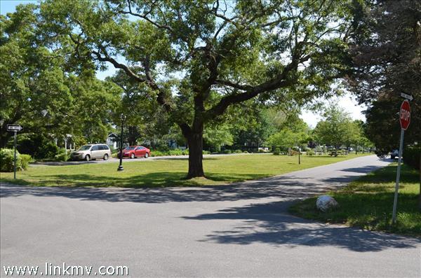 Nashawena Park from driveway