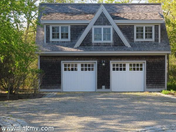 Two car garage with apartment above