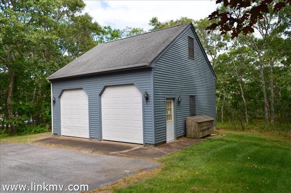 Over size 2 car garage