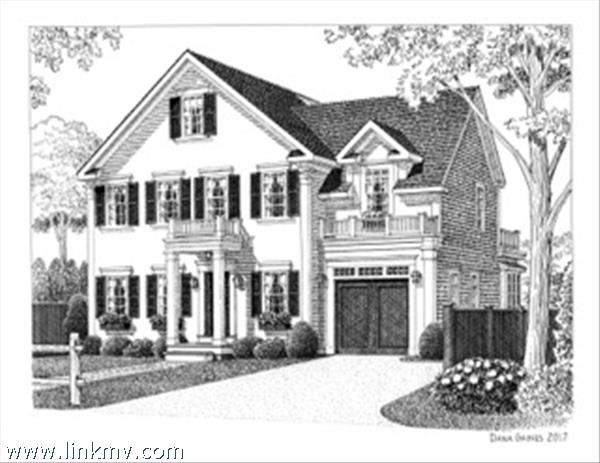 Rendering of exterior of Home