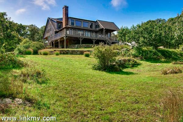 Aquinnah water view home views
