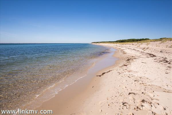Beautiful half-mile north shore sandy beach with clear swimming water