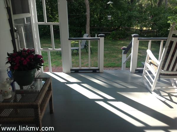 Porch to back deck