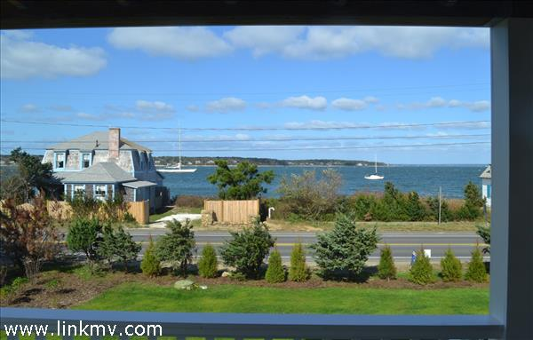 Breathtaking Views of Vineyard Haven Harbor and Beyond.