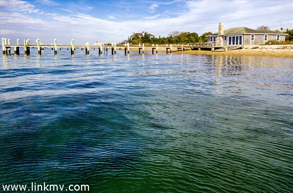 750 Square Foot Boat House Sits Directly On The Shoreline Of Vineyard Haven Harbor