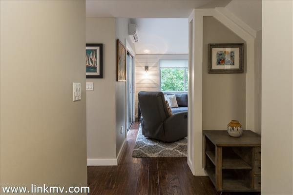 Foyer to this fabulous space.