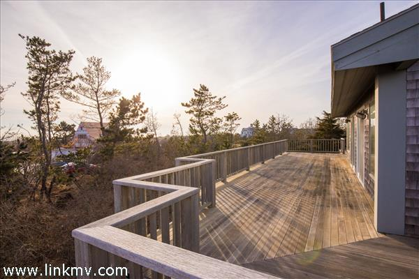 Expansive decks to lounge and soak up the sun