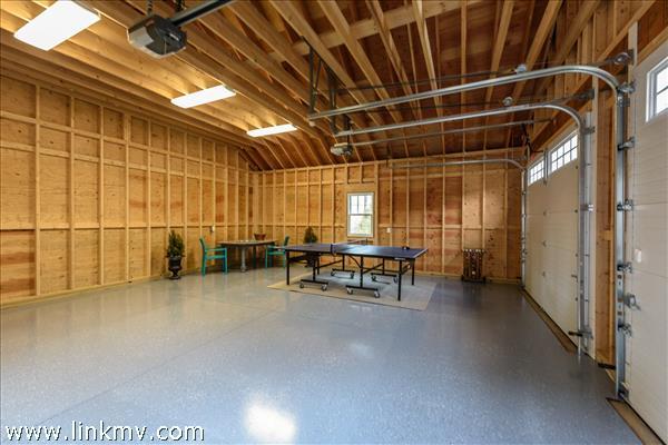 detached garage aka Game Room