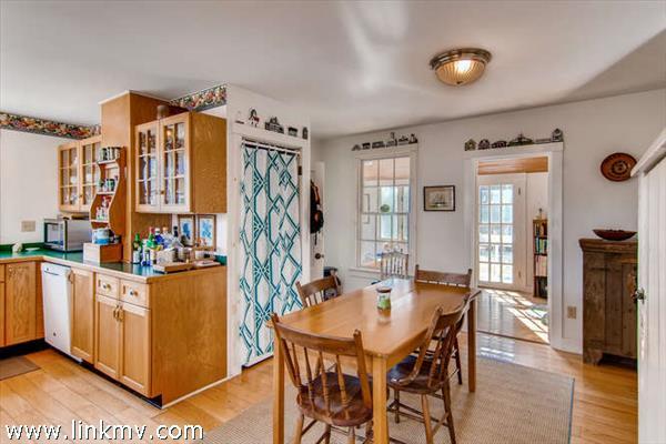 Menemsha Cottage kitchen