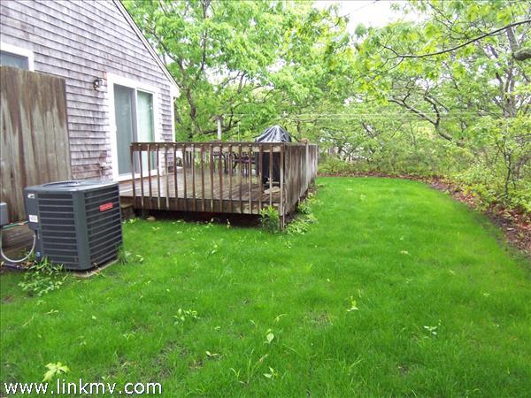 Slider to wrap-around deck and outdoor shower