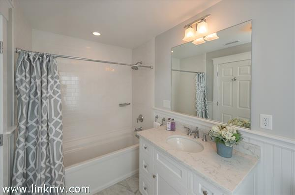 Full Shared Bath Has Tub & Shower. Second Floor