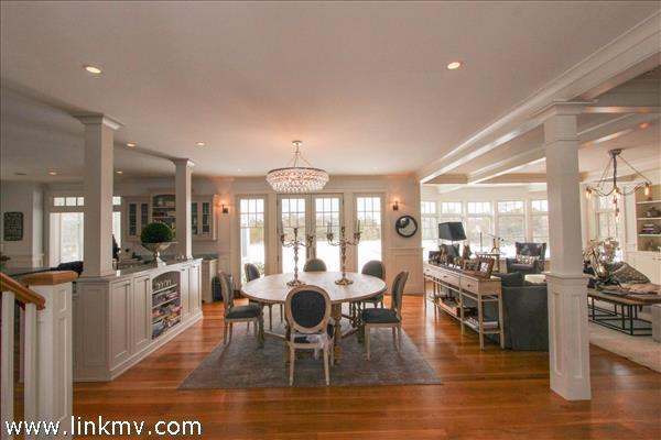 The casual graciousness and detailed construction are instantly apparent.