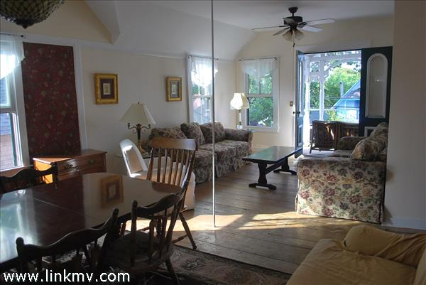 Upstairs Apartment Living & Dining area