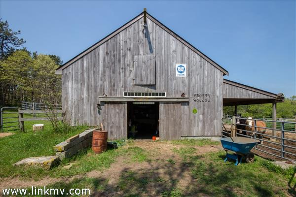 3 Stall horse barn with Tack Room and electricity plus water inside.