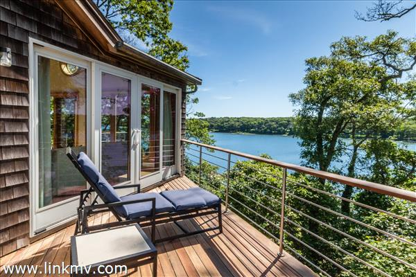 What could be better than enjoying this view from your master suite deck...