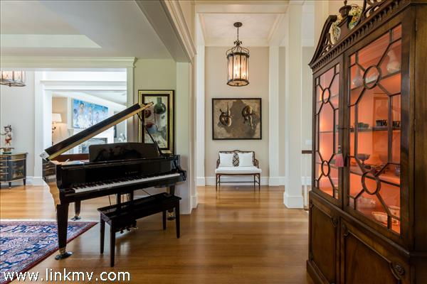 Welcome to the grandeur and polish and the beginning of an incredibly detailed home.