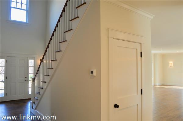 Central stairway detail