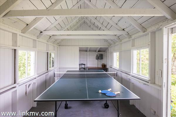 Boathouse ping pong