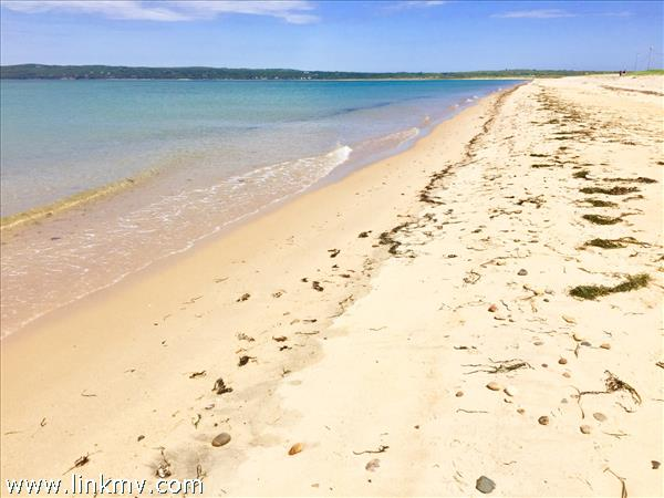 Miles of pristine beach with deeded access