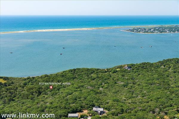 37 Jeremiah Road, Chappy. 9.02 acres Waterfront land