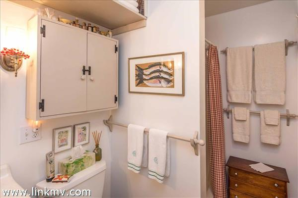 Bathroom Has Stall Shower - First Floor