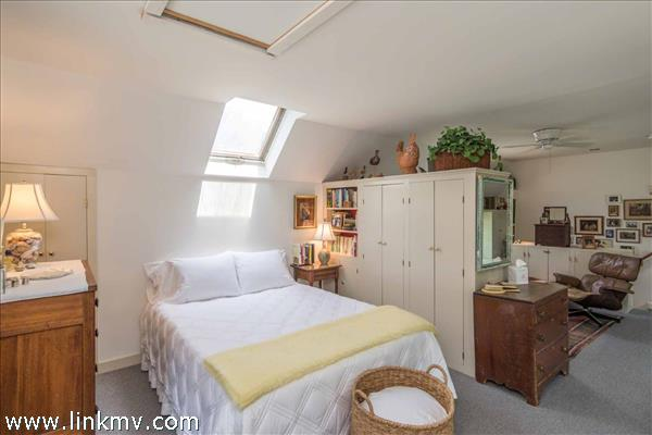 Bedroom Has Skylights and Open Sitting Area