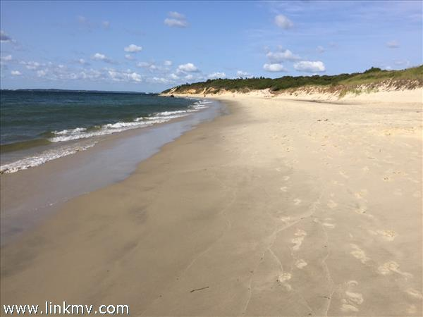 West Tisbury's Town Beach at Lamberts Cove