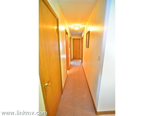 Hallway to Bedrooms #2, #3 & #4